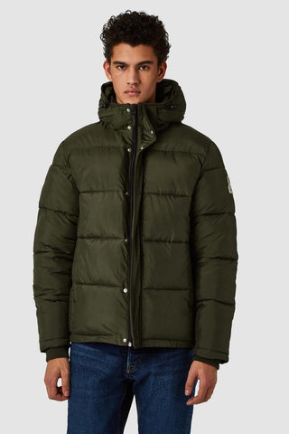 Annei Jacket (Military Green) - Kings of Indigo
