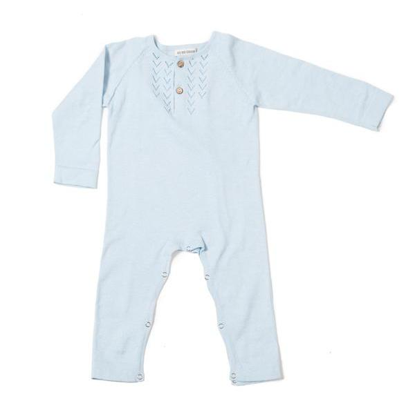 Lace Front Overall (Pale Blue) - As We Grow