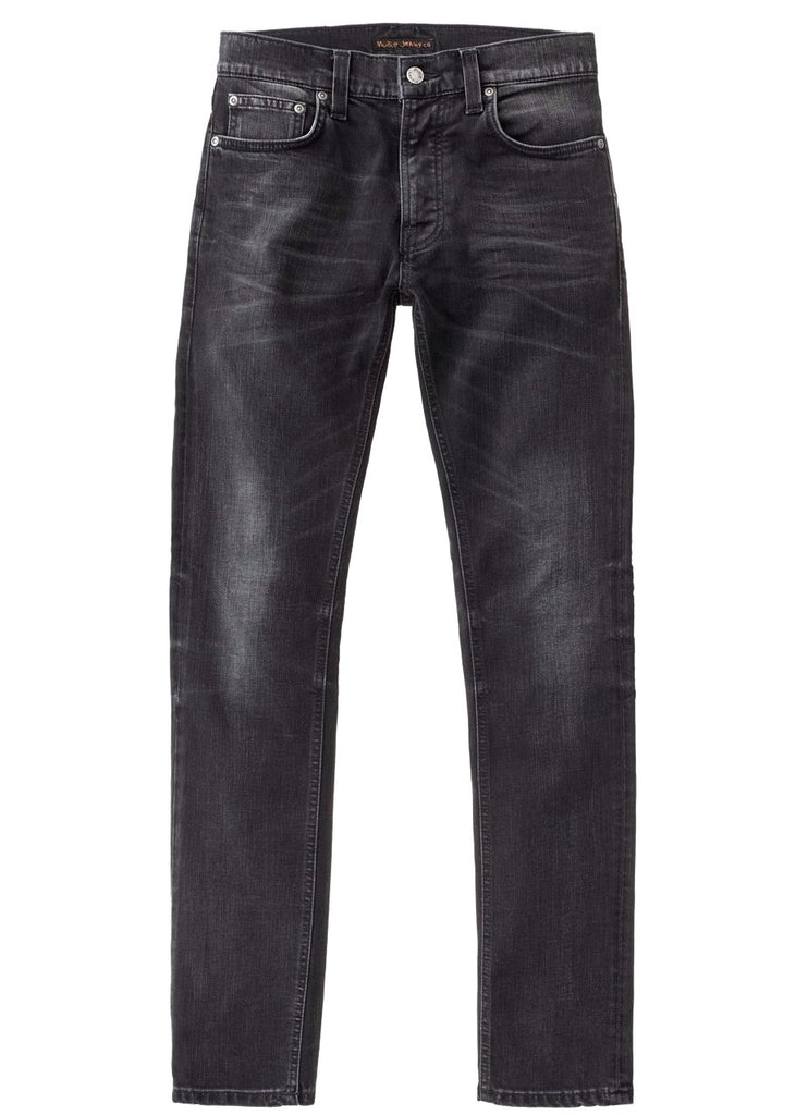 Lean Dean Black Sage - Nudie Jeans