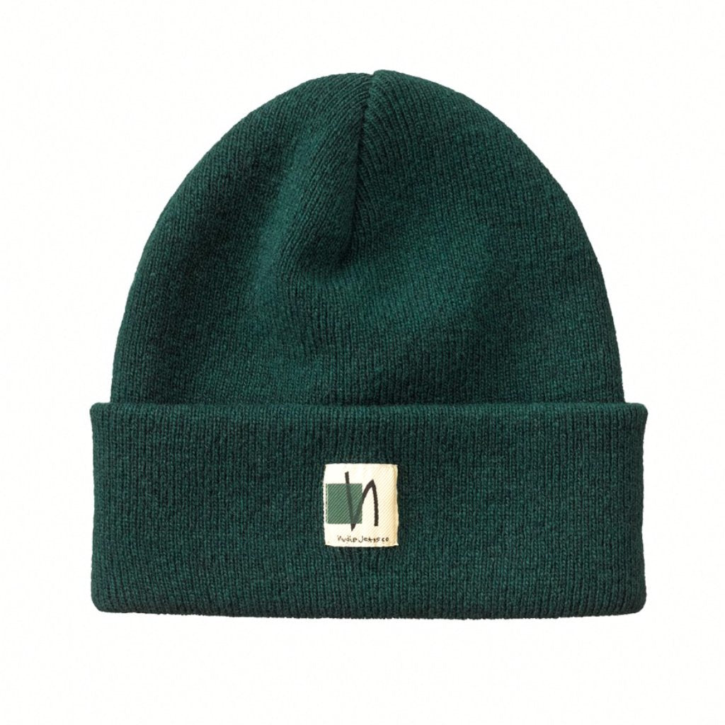 Green  Liamsson Beanie - Nudie Jeans – Res-Res 5ff88c4eb6a