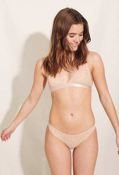 Luna Bra (Light Beige) - Underprotection