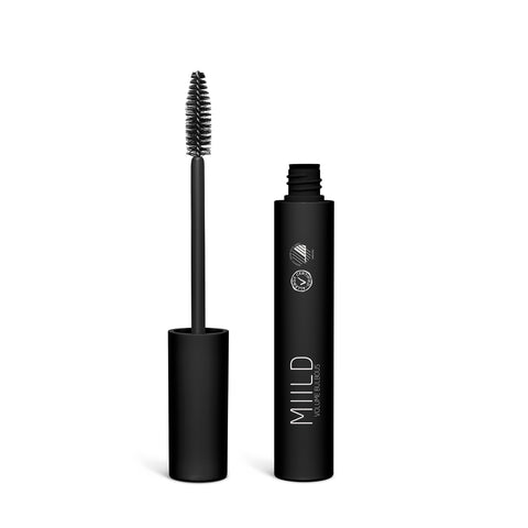 Mineral Mascara 02 Bulbous Black Volume - Miild