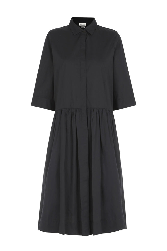 Mickey Shirtdress Black - SKALL Studio