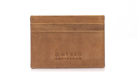 Mark's Cardcase (Camel or Black) - O MY BAG