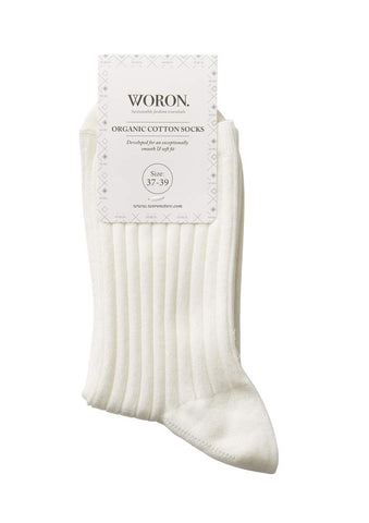 Socks (Off White) - WORON