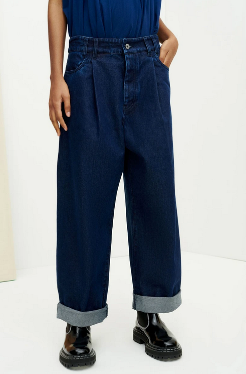 Worker Jeans (Indigo Denim) - Kowtow
