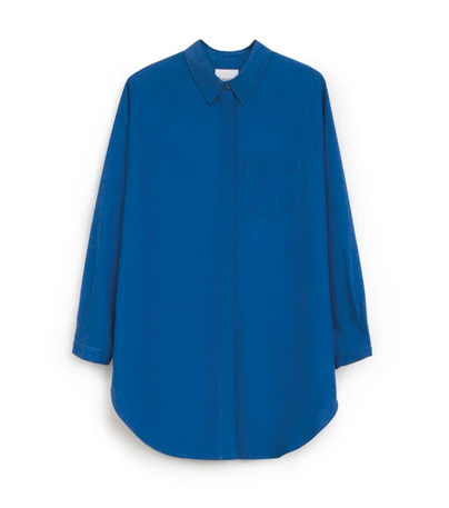 Oversized Shirt (Sea Blue) - Kowtow