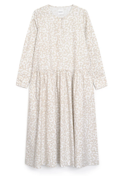 Edith Dress (Flora Print) - Kowtow