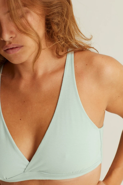 Core Bralette (Hint of Mint) - WORON