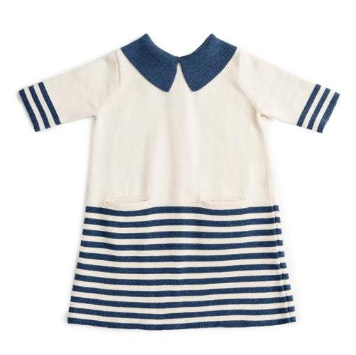 Sister Dress (Navy Stripes) - As We Grow