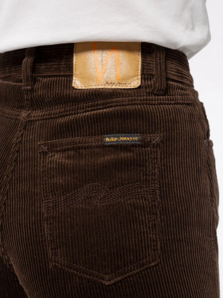 Clean Eileen Brown Cord - Nudie Jeans