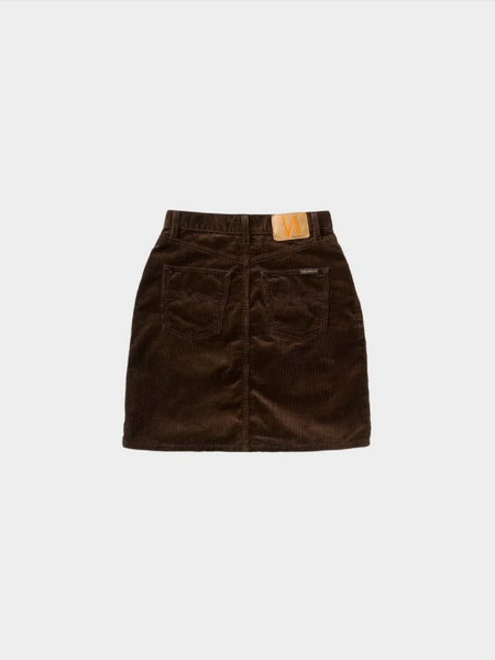Hanna Skirt (Brown) - Nudie Jeans