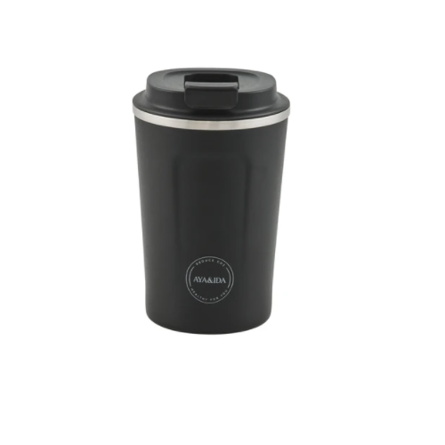 Cup 2 Go 380ml (Matte Black) - Ayaida