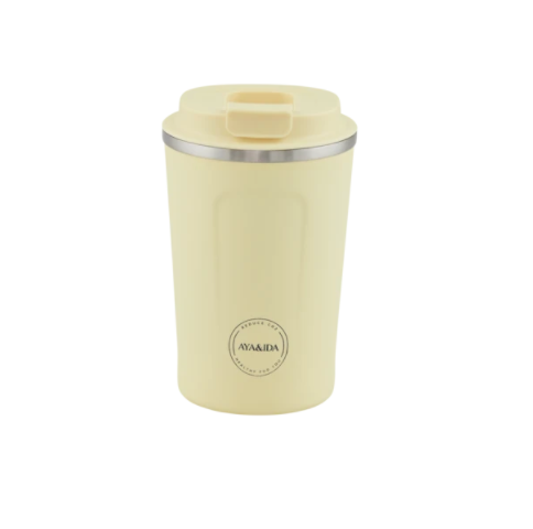 Cup 2 Go 380ml (Butter Yellow) - Ayaida