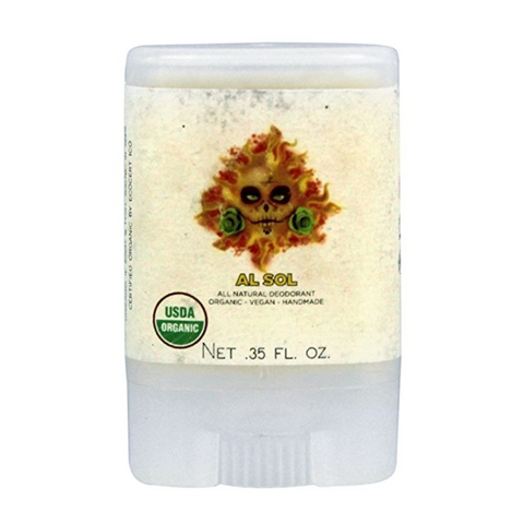 """Al Sol"" Deodorant (Travelsize) - North Coast Organics"