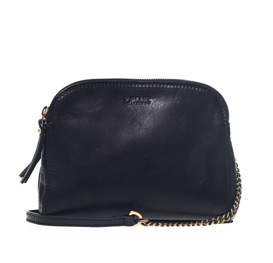 Emily Eco Stromboli Leather Black - O My Bag