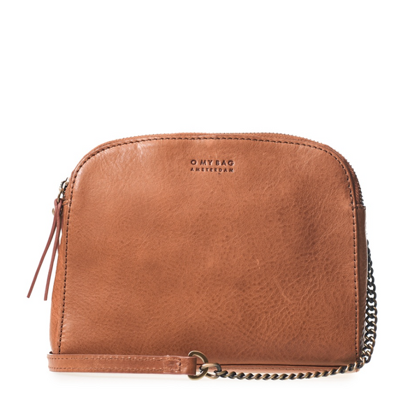 Emily Eco Stromboli Leather Camel - O My Bag