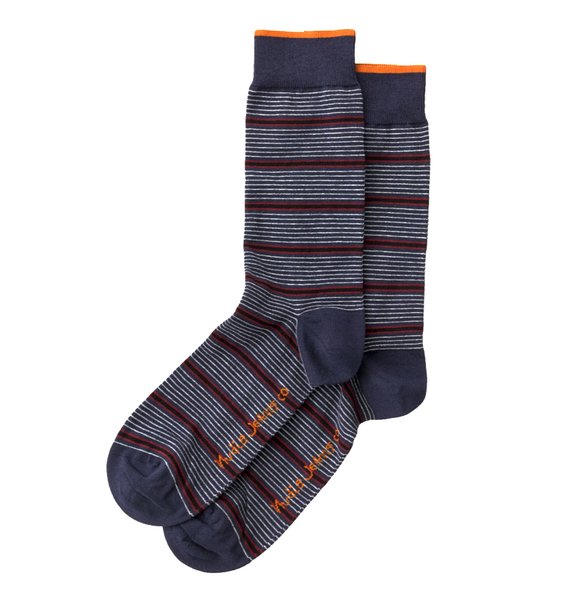 Olsson Mixed Strip Socks - Nudie Jeans