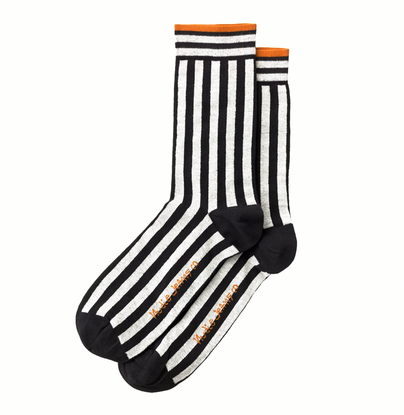 Olsson Vertical Socks - Nudie Jeans