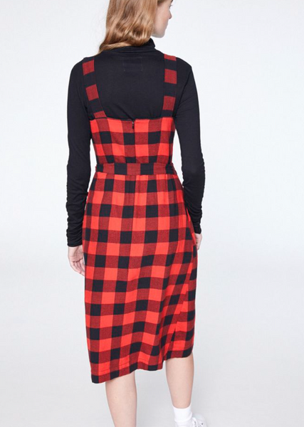 Lilith Big Check Dress - ARMEDANGELS