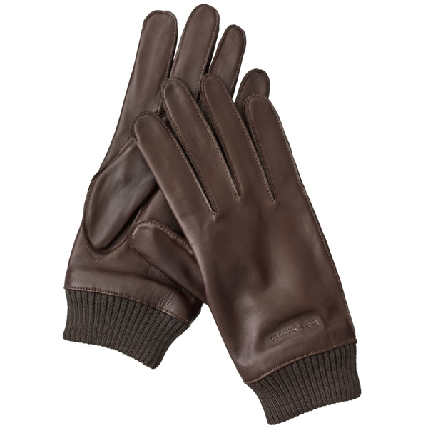 Arvidsson Leather Glove (Dark Brown) - Nudie Jeans