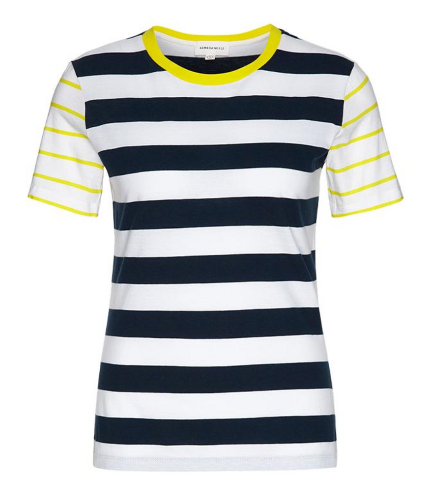 Lidaa Summer Stripes (Dark Navy/White) - ARMEDANGELS
