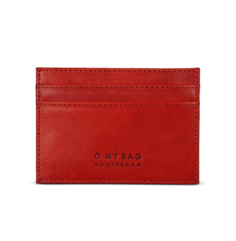 Mark's Cardcase (Red) - O MY BAG
