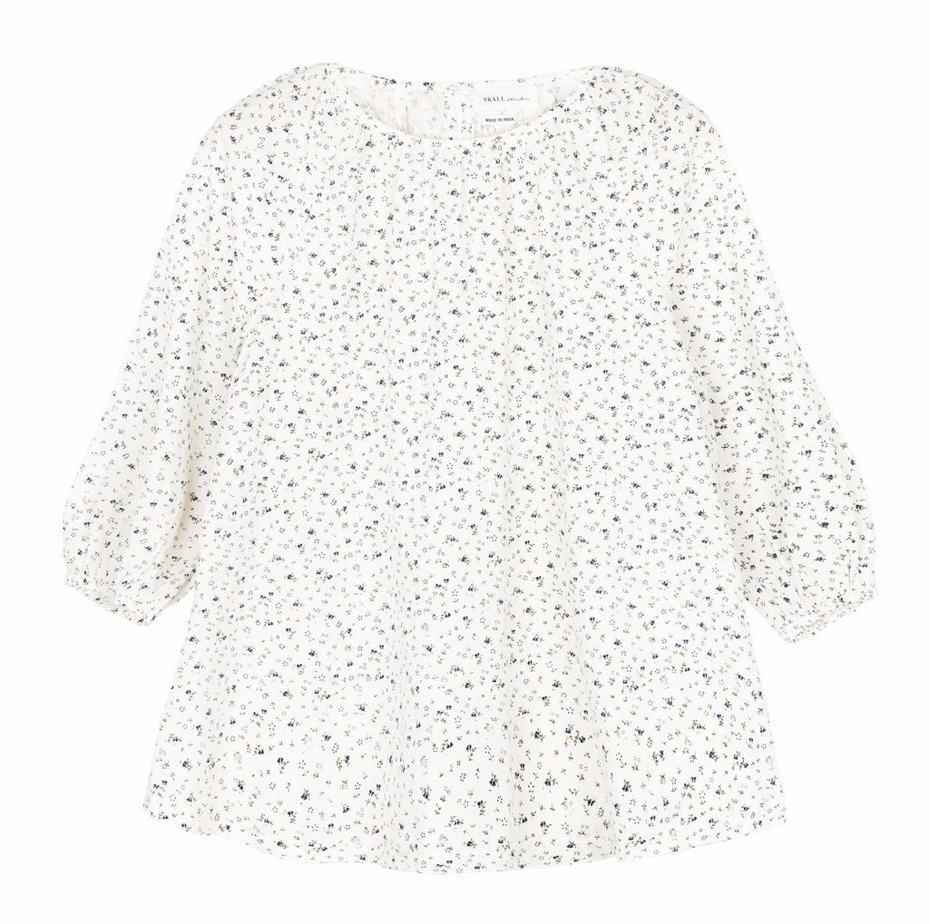 Merci Blouse (Moon Flower Print) - SKALL Studio