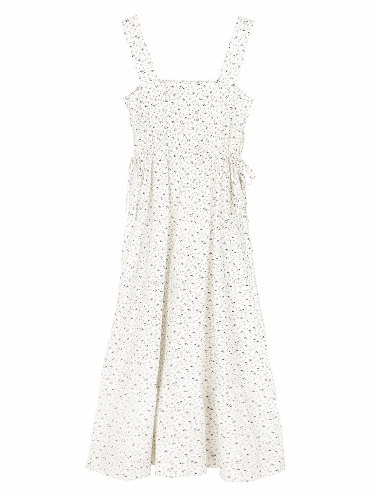 Merci Dress Two (Moon Flower Print) - SKALL Studio