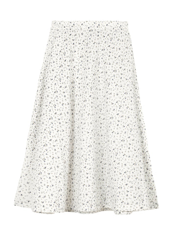 Merci Skirt (Moon Flower Print) 100% O- SKALL Studio