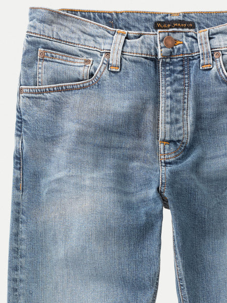 Steady Eddie II Pure Blue - Nudie Jeans