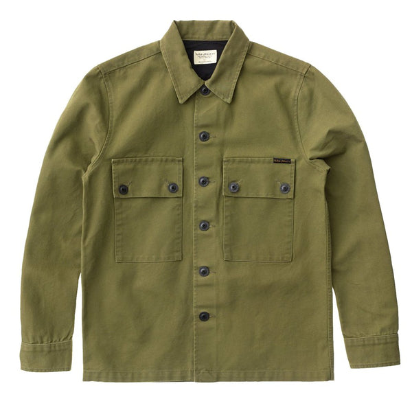 Sten Swedish Army Yellow Shirt - Nudie Jeans