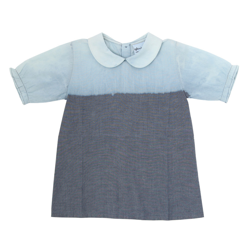 Denim Blouse - Iglo+Indi