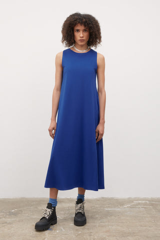 Tank Swing Dress (Bright Blue) - Kowtow