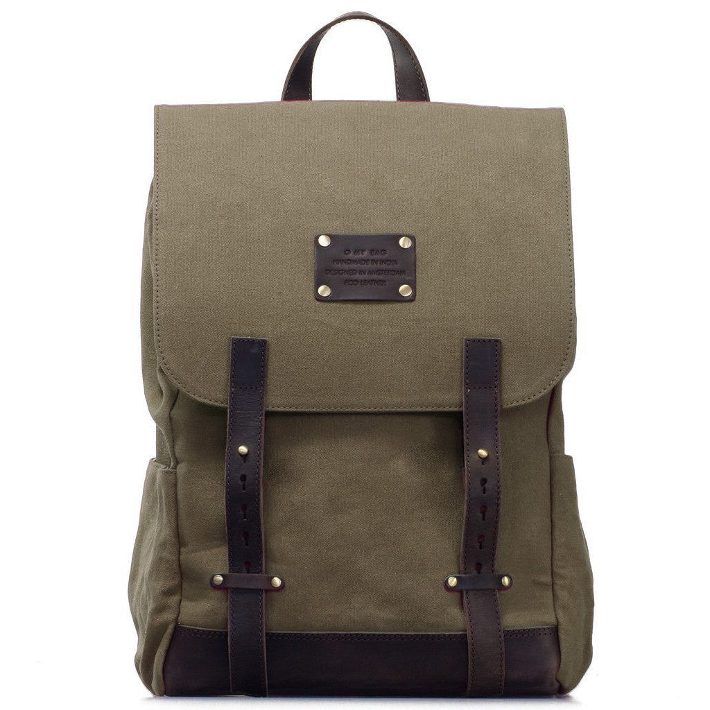 Mau's Canvas Backpack - O My Bag