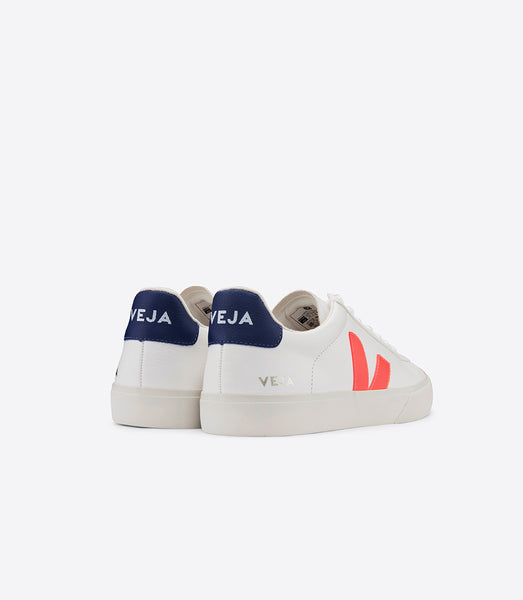 Campo Chromefree Extra White Orange Fluo Cobalt - VEJA Shoes