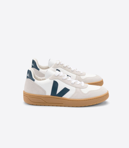 V-10 B-MESH White California Natural - VEJA