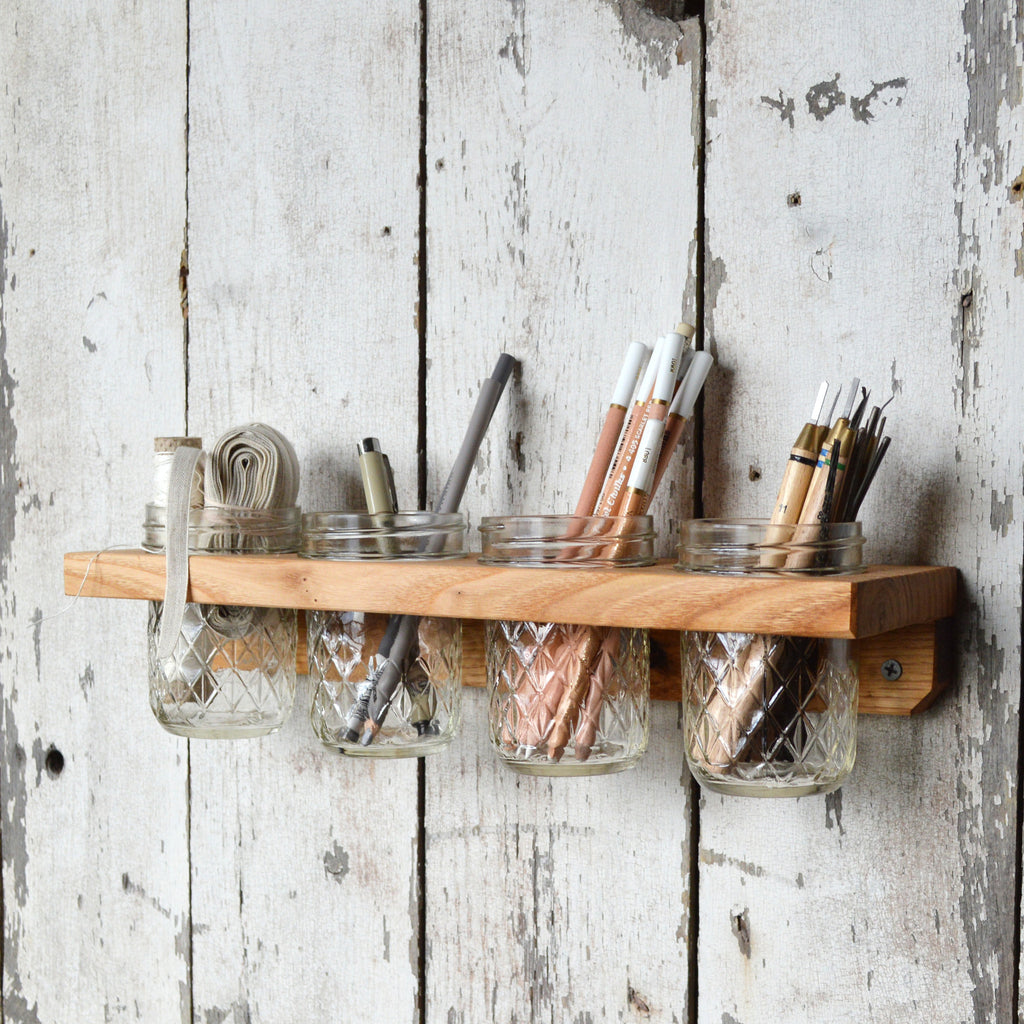 Wall Mounted Caddy - Peg and Awl