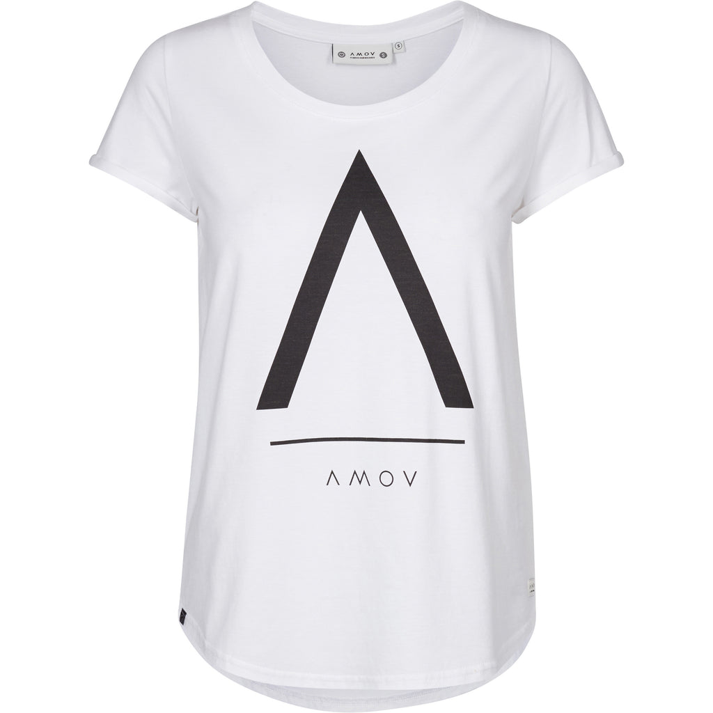 A-Logo T-shirt (Women) - AMOV