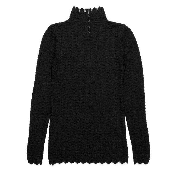 Anke Lace High Neck Sweater - Aiayu
