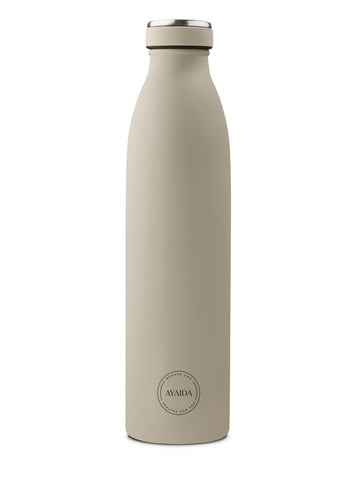 Drinking Bottle 750ml (Cream Beige) - AYAIDA