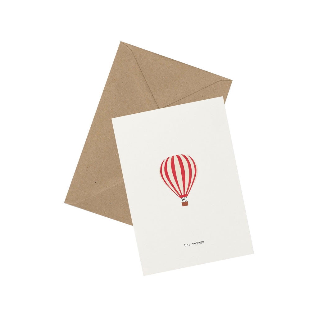 Hot Air Balloon Postcard - Kartotek