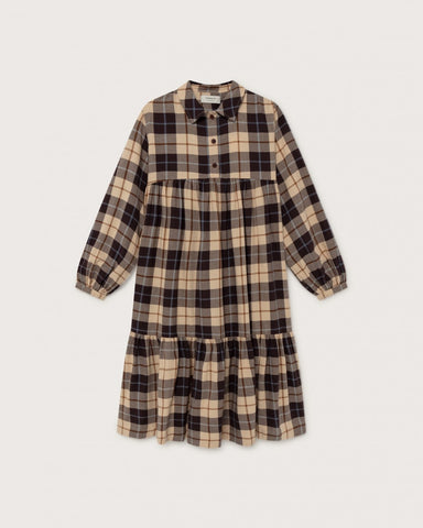 Boho Dress (Big Checks) - Thinking MU