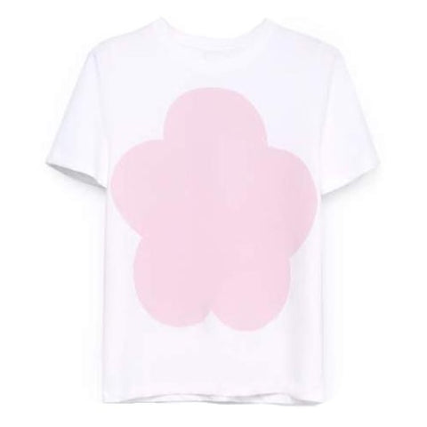 Big Flower Tee (Pink) - Kowtow
