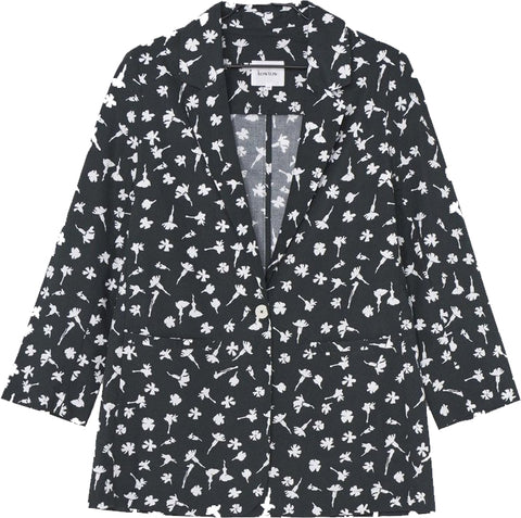 Departure Pressed Flower Blazer - Kowtow