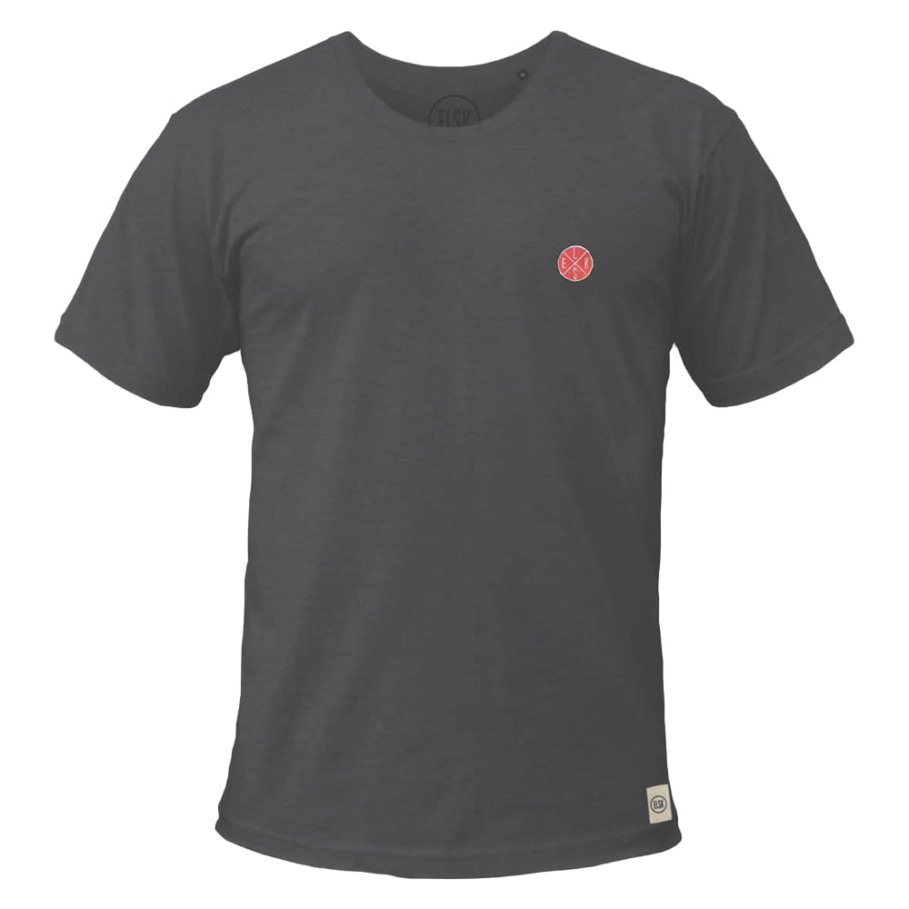 Chest Batch Men's Tee (Coal) - ELSK