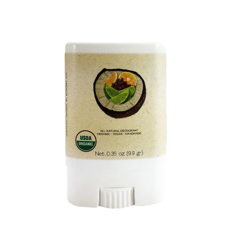 """Coconut"" Deodorant (Travelsize) - North Coast Organics"