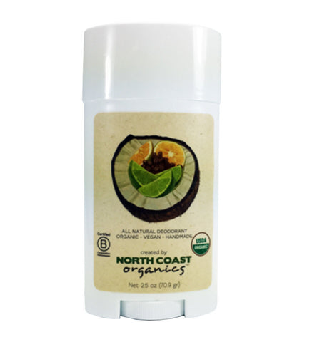"""Coconut"" Deodorant - North Coast Organics"