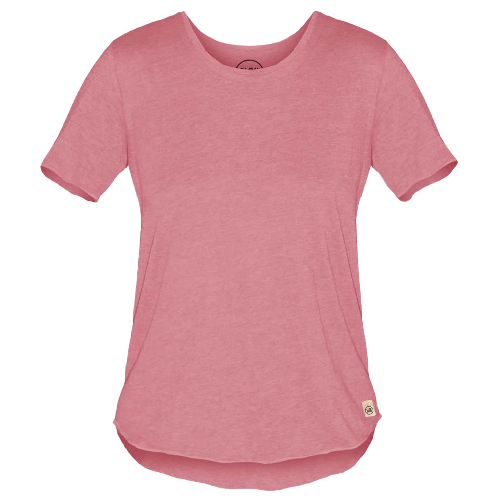 Gus Women's Tee (Mauvewood) - ELSK