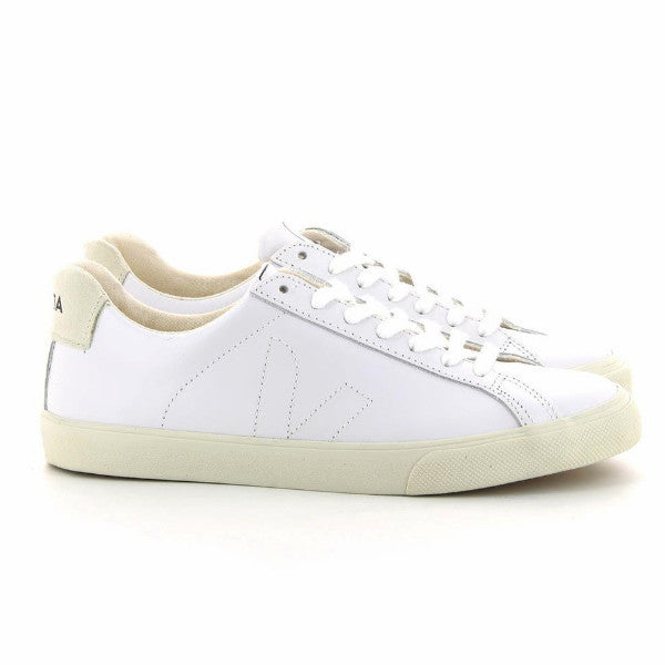 Esplar Low Leather Extra White - VEJA Shoes